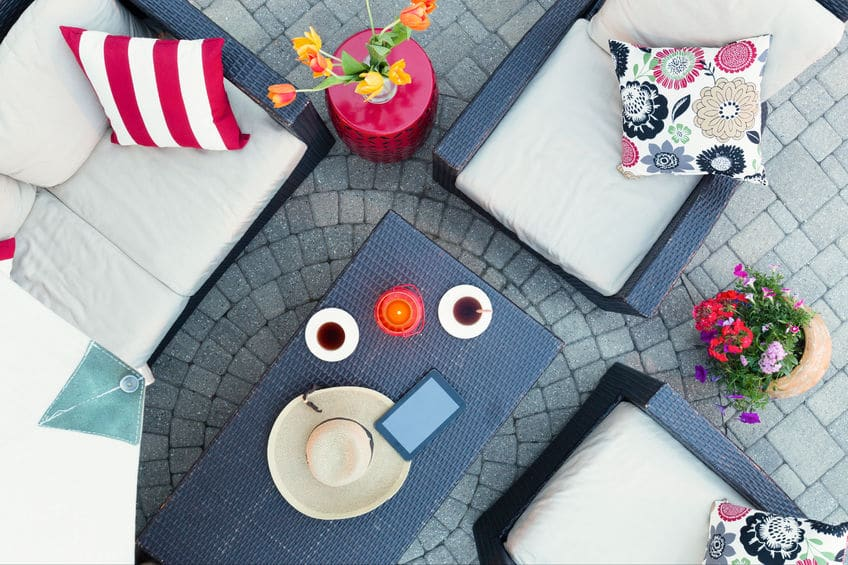 A new patio set may be high on your want list, but is it really what you need?