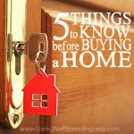 5 Things to Know Before Buying a Home Square 1