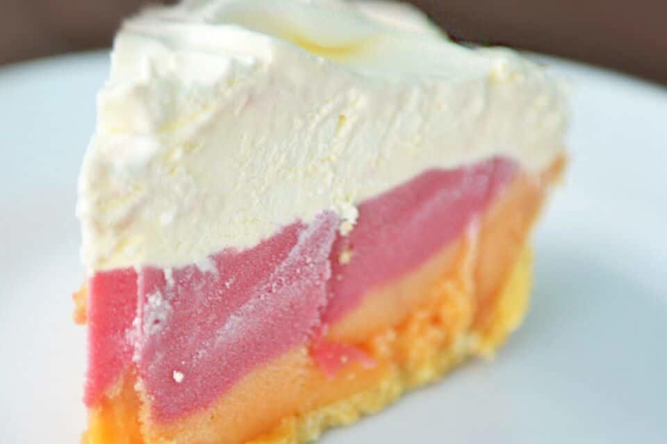 Easy Sorbet Pie