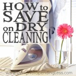 How to Save on Dry Cleaning Square 1