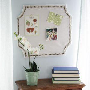 DIY Pottery Barn Knock-Off Pin Board | Copycat Pottery Barn Decor | DIY Projects | Home Decor