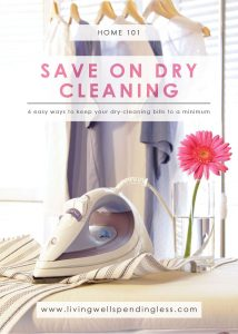 How to Save on Dry Cleaning | Laundry Tips | Clothes Care | Money Saving Tips for your Delicate Clothes | Dry Cleaning Hacks