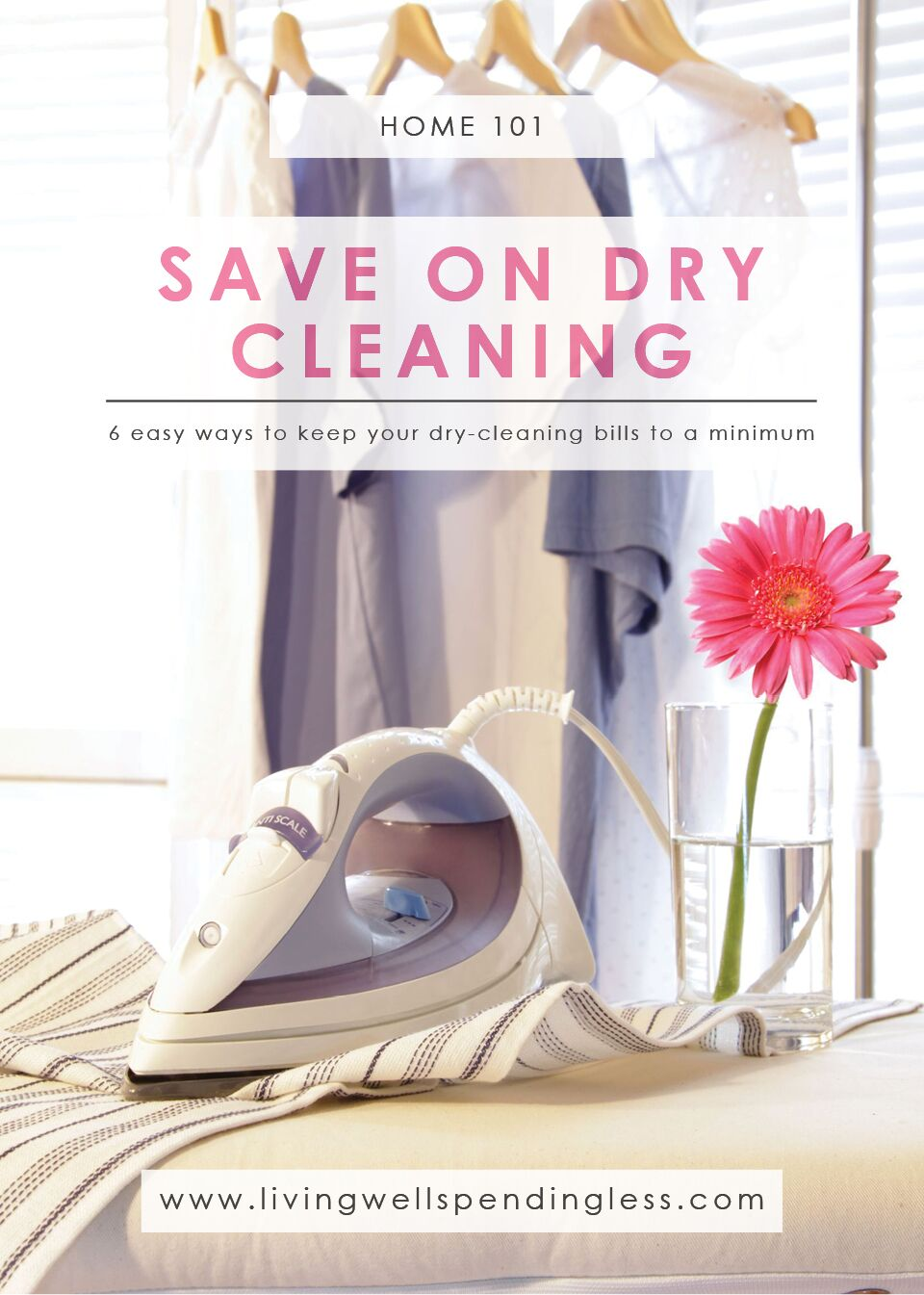 How to Save on Dry Cleaning | Laundry Tips | Clothes Care | Dry Cleaning Hacks