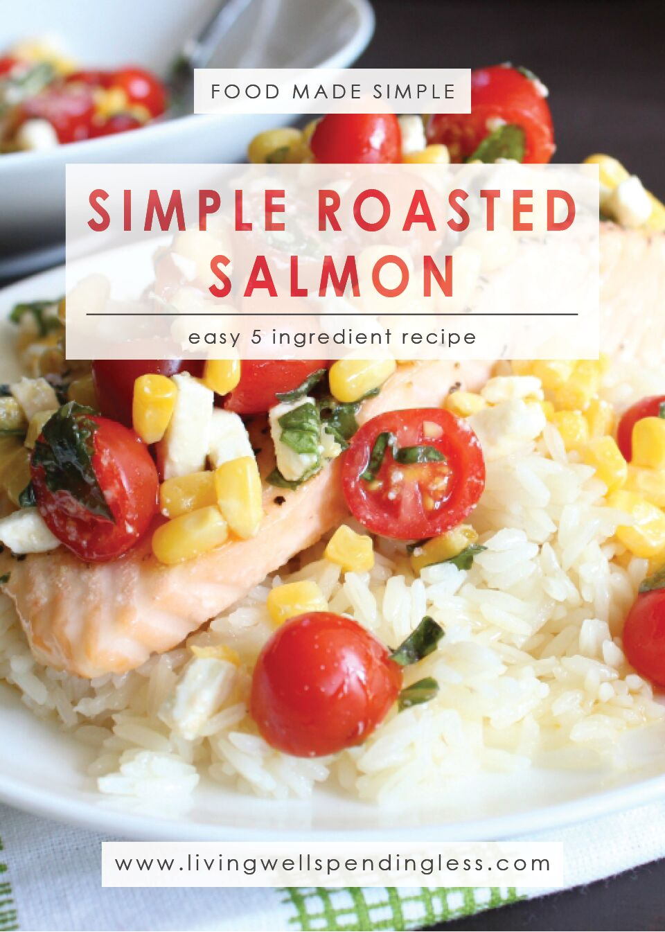 Simple Roasted Salmon | Food Made Simple | Easy Fish Recipe | 5 Ingredient Recipe | Quick & Easy Fish Recipe | 20 Minute Meal
