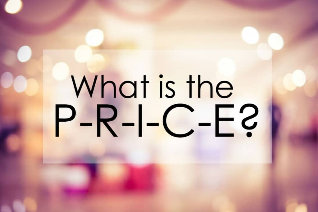 Major purchases are usually pretty pricey. Nail down a price beforehand and budget to prepare for the expense