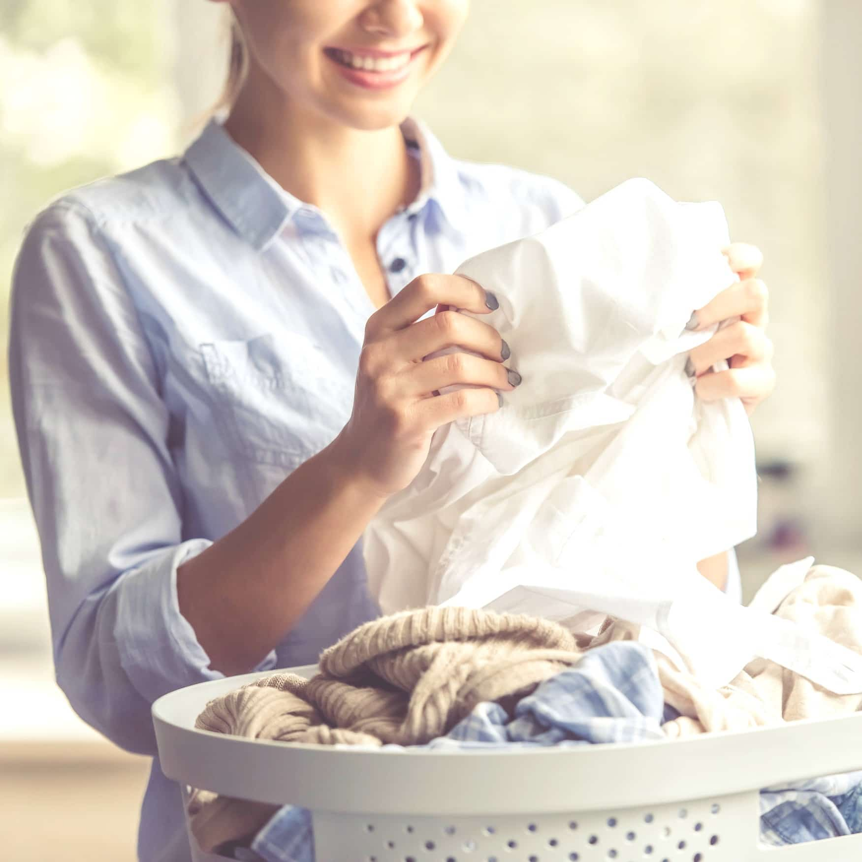 Don't miss these 10 smart ways to tame that laundry pile and take back your sanity!