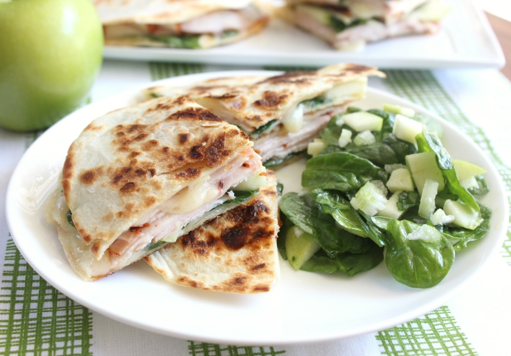 Turkey, Apple & Brie Quesadilla | Food Made Simple | Quick & Easy ...