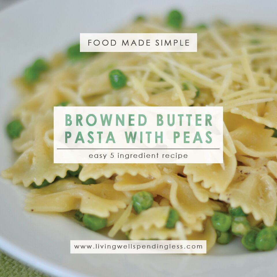 Buttery Parmesan Peas