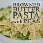 Browned Butter Pasta with Peas Square 2