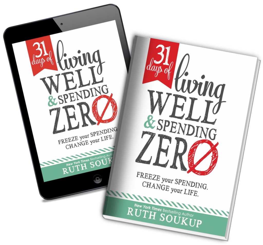 Get the 31 Days of Living Well Spending Zero plan available for download now.