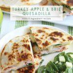Turkey Apple Brie Quesadilla | Turkey Quesadillas Recipe | Easy Quesadillas Recipe | Brie Quesadilla Recipe