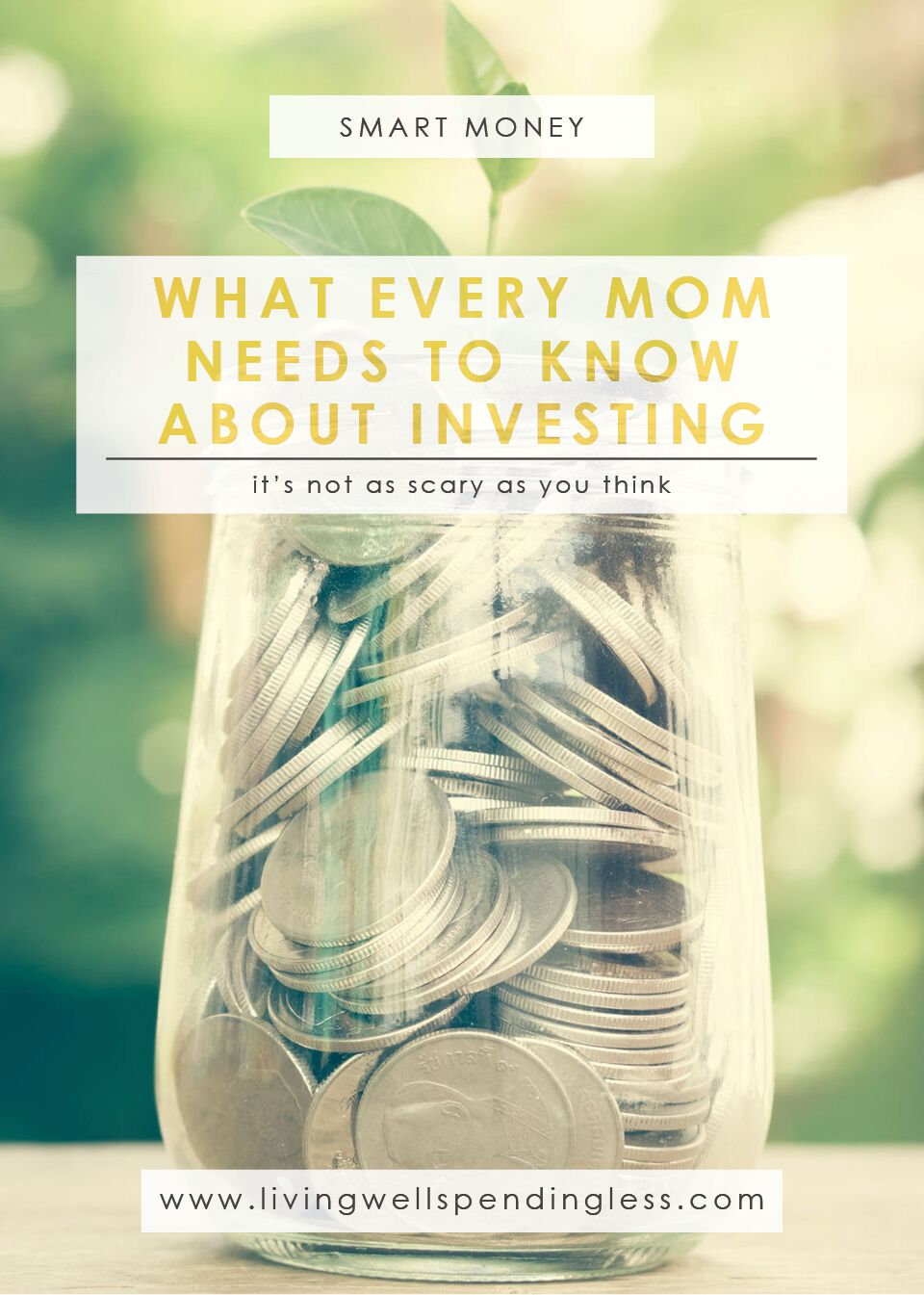 What Every Mom Needs to Know About Investing | Money Investing Tips for Moms | Financial Tips for Moms
