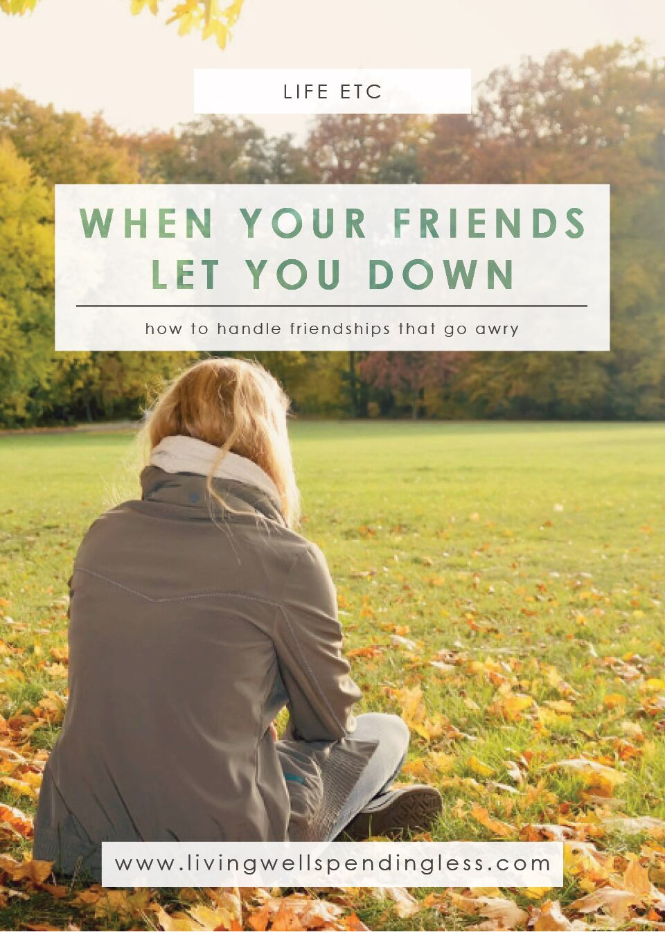 When Your Friends Let You Down | Friendship Hacks | Life & Relationships | Friendship Fails | Moving On | Forgiveness