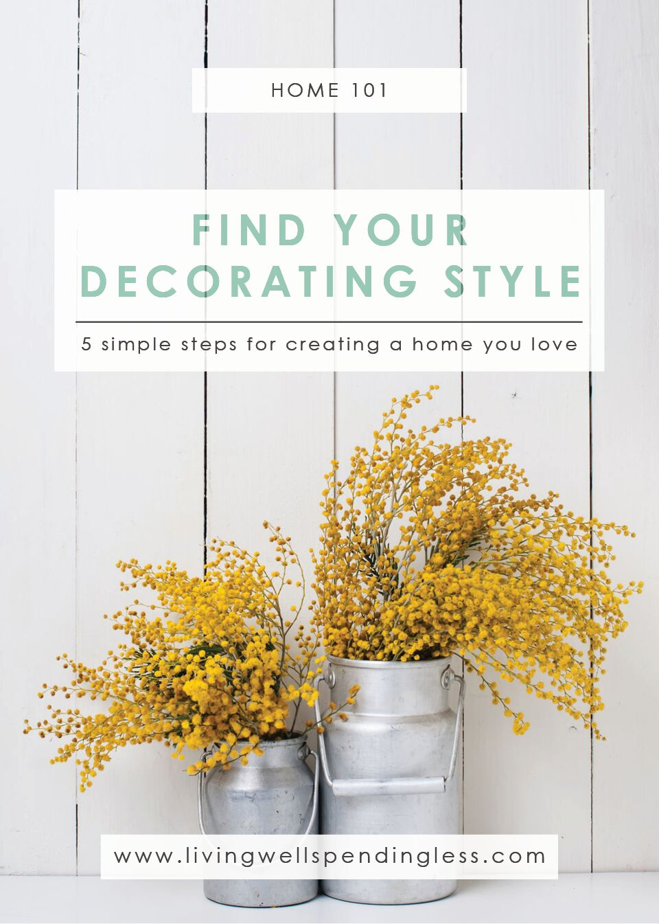5 Steps For Finding Your Decorating Style | Home Decorating | DIY Home Decor