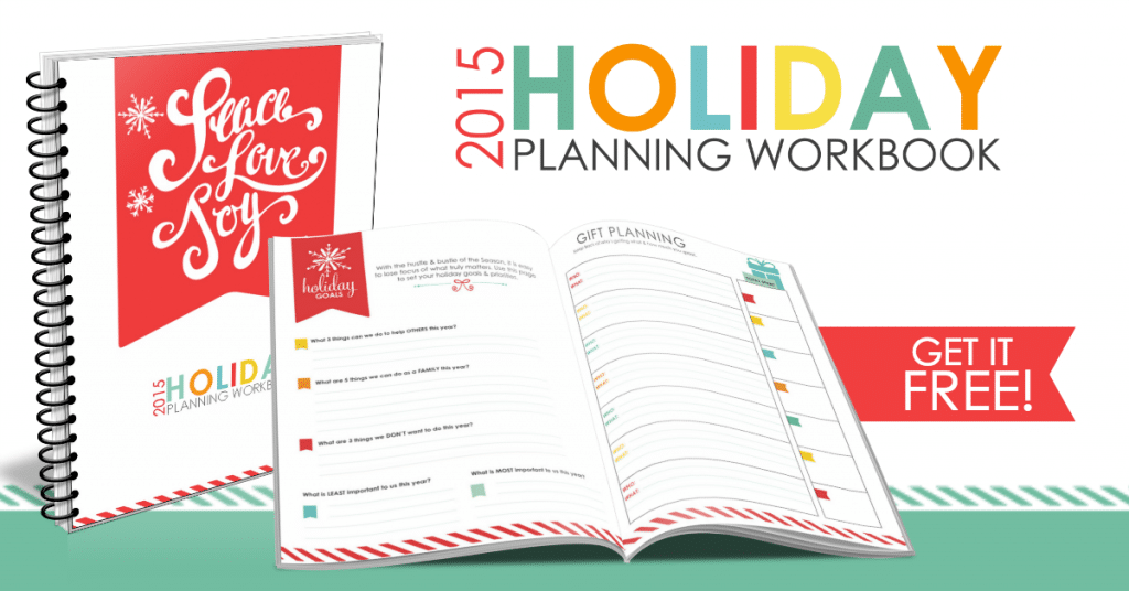 2015 Holiday Planning Workbook FB