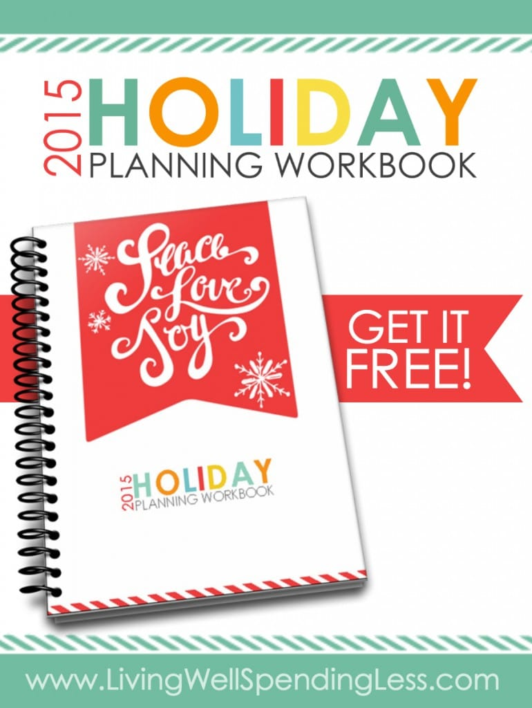 2015 Holiday Planning Workbook Vertical