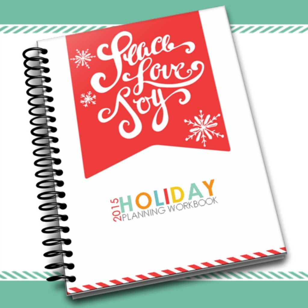 Holiday Planner Square Plain