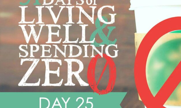Day 25: Try Bartering