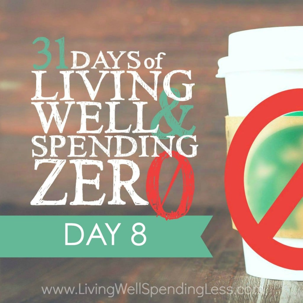 31 Days of Living Well & Spending Zero | Day 8: Get Ready to Clean