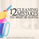 12 Cleaning Mistakes You Might Be Making Square