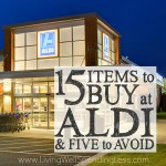 15 Items to Buy at Aldi (& 5 to Avoid)