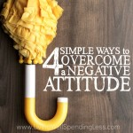 4 Ways to Overcome a Negative Attitude Square