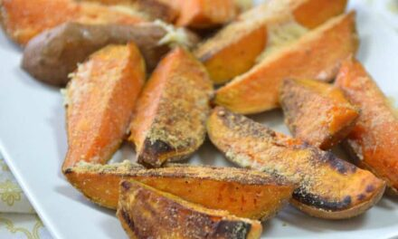 Easy Roasted Sweet Potatoes