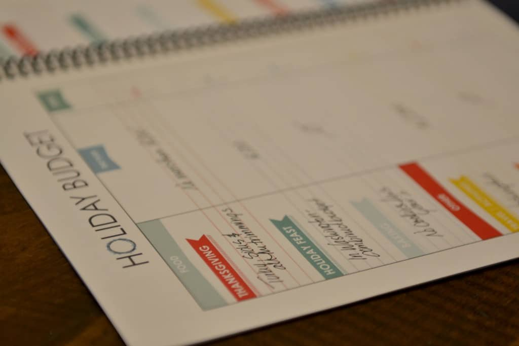 The LWSL holiday planner budget sheet will keep you from breaking your budget