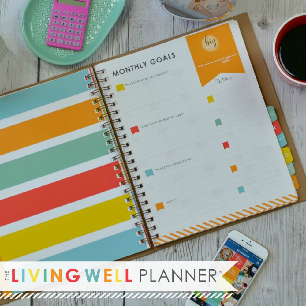 Living Well Spending Less: Introducing....the Living Well Planner™