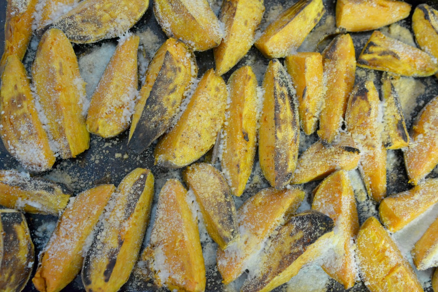 Easy Roasted Sweet Potatoes 5 Ingredients Or Less Food Made Simple Holiday Dishes