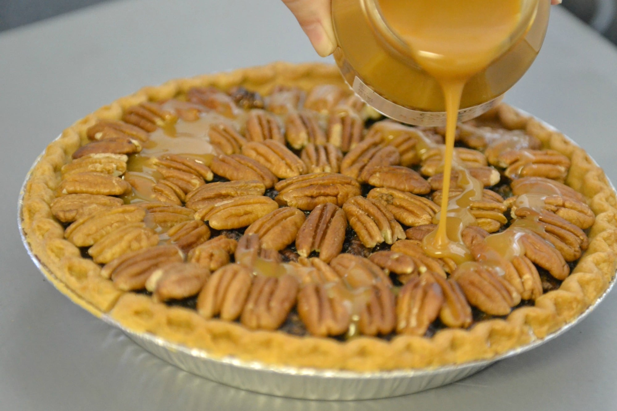 Chocolate Pecan Pie Made With Cocoa