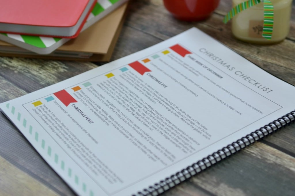 The LWSL holiday planner has a handy Christmas checklist that will keep you on track