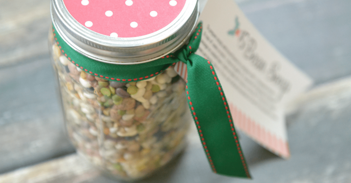 15 Bean Soup Jar Gift