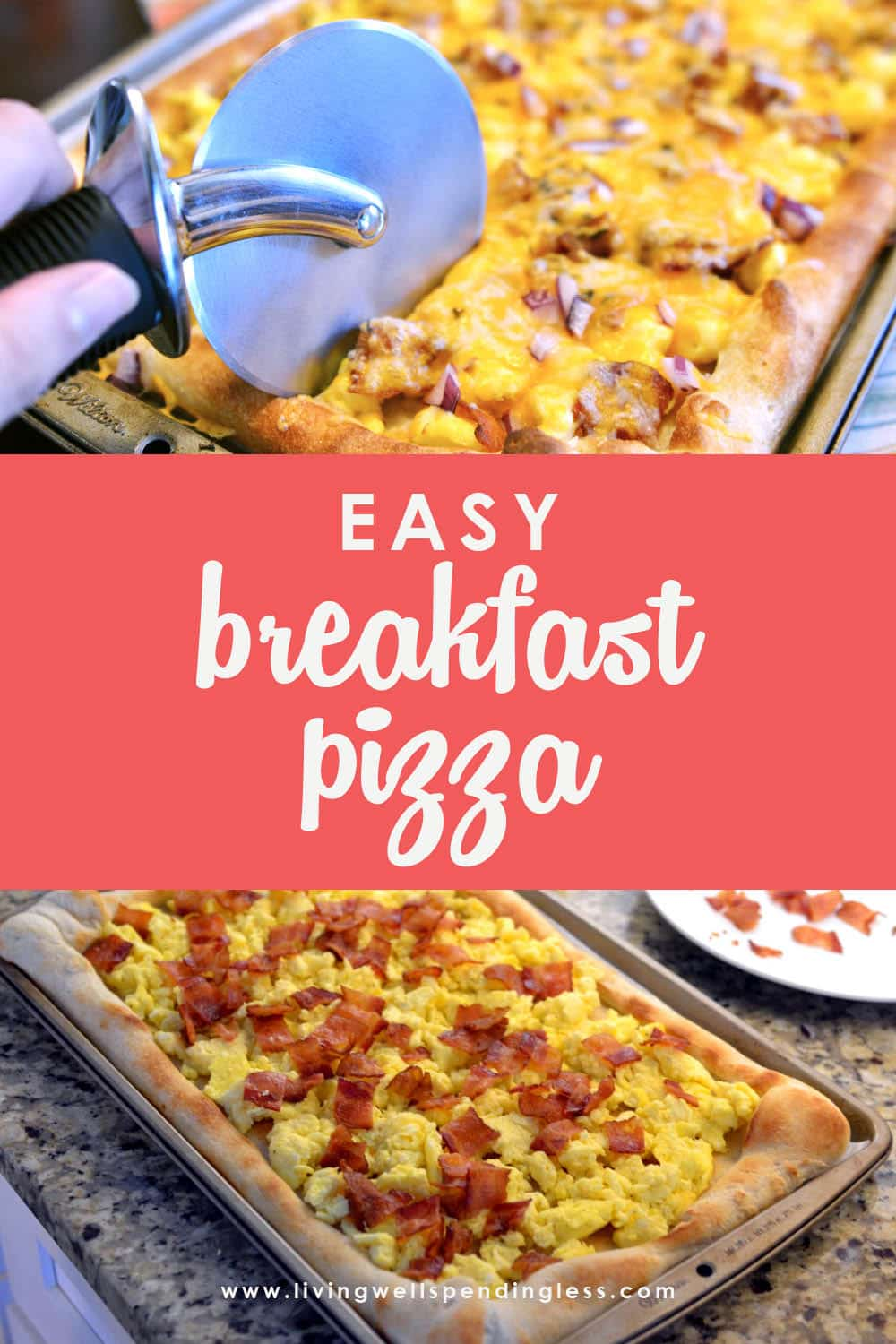 Ready for a fun way to mix up the most important meal of the day? This easy breakfast pizza recipe combines all your favorites into one tasty dish! #healthybreakfast #pizza #breakfast #breakfastpizza #eggs #quickbreakfast #foodmadesimple #recipes #breakfastrecipes #pizzarecipes