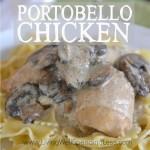 Portobello chicken square cover