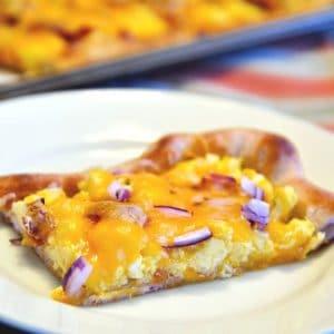 Breakfast Pizza | 5 Ingredients or Less | Breakfast Meal | Food Made Simple