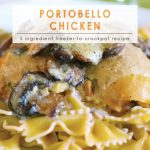 Portobello Chicken | 10 Meals in an Hour | Food Made Simple | Freezer Cooking | Freezer Meals | Main Course Meat | Chicken Recipes