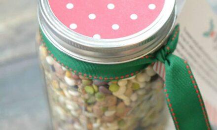 15 Bean Soup Jar Gift