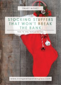 Stocking Stuffers that Won't Break the Bank | Money Saving Tips | Smart Money | Cheap Stocking Stuffers