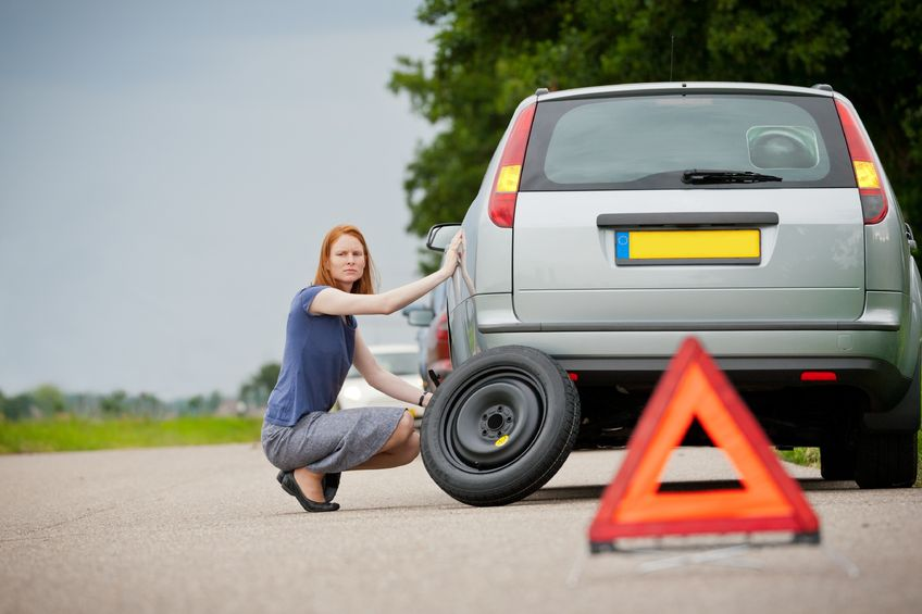 Flat tires happen to everyone, knowing how to change a tire is a basic life skill.