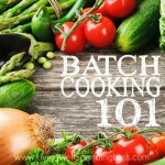Batch cooking square 1