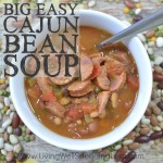 Craving big flavor with not much effort? With just a few budget-friendly easy ingredients, this ridiculously delicious slow-cooker Cajun Bean Soup comes together in minutes, then freezes beautifully until you're ready to throw it in the crockpot, no pre-cooking, pre-soaking, or thawing required. It seriously could not be any easier! My family gave it rave reviews & I guarantee yours will too!