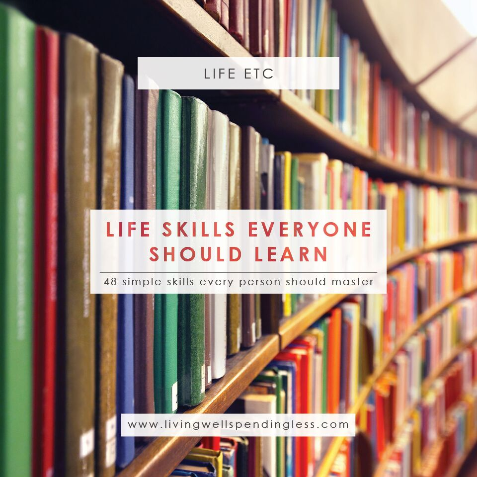 48 Life Skills You Need | Must Know Life Hacks | Life Skills to Master | Tips for Life | Skills Everyone Should Know | Important Life Lessons