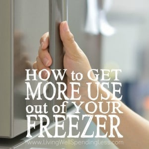 Is it a struggle to get dinner on the table every night? You might not realize that you've got a secret weapon already on hand--one that can save you time, effort, and money! Don't miss this super informative post for how to get more use out of your freezer, including freezer cooking tips, easy recipe ideas, and a few pitfalls to watch out for!