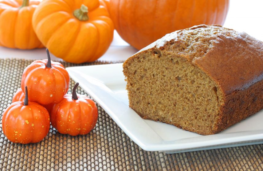 Pumpkin bread from Trader Joe's is the perfect addition to your autumn table.
