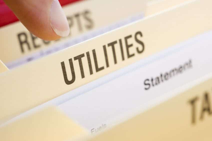 Utility bills include charges for electricity, gas, and more - there are a lot of numbers to keep track of