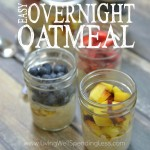 Easy Overnight Oatmeal Square