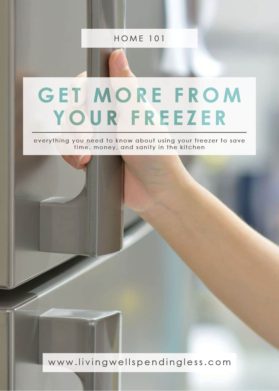 Improve your freezer space with these tips