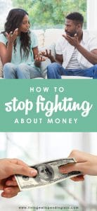 While every marriage involves disagreements from time to time, few fights are as difficult--or as destructive--as the ones about money. If you and your spouse have been struggling to see eye to eye, don't miss these practical ideas for how to stop fighting about money. A must read for every couple!