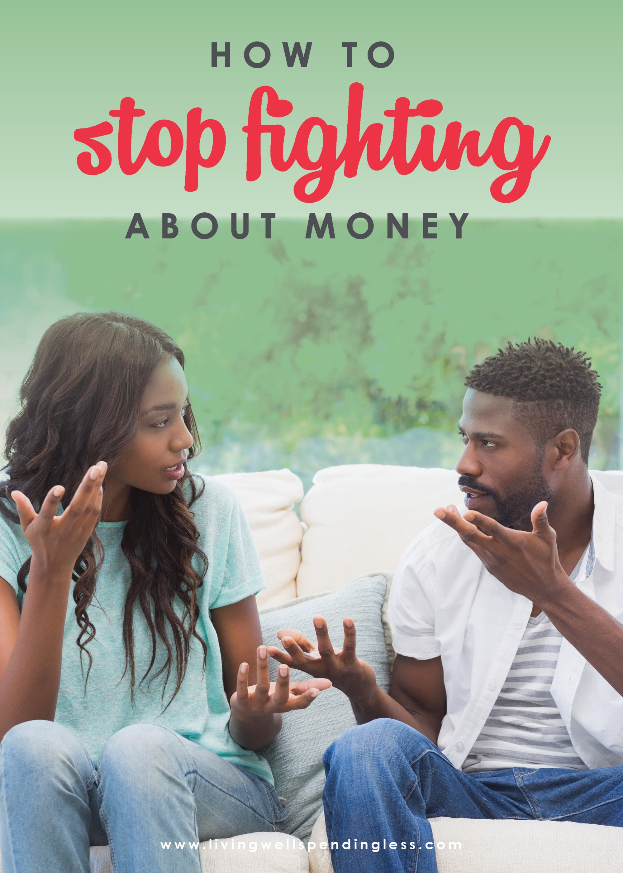 Use these four strategies to stop fighting about money.